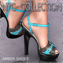 NYC Collection: Amber Footwear Themed 3DSublimeProductions