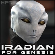 HFS Races: Iradian 3D Figure Essentials 3D Models DarioFish