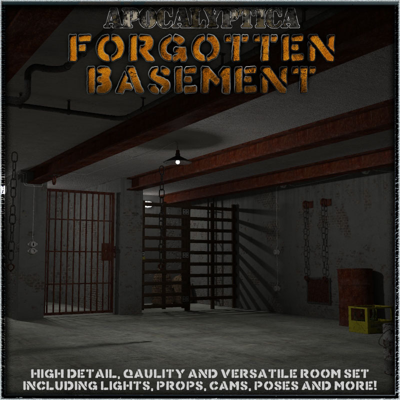 Forgotten Basement by 3-D-C