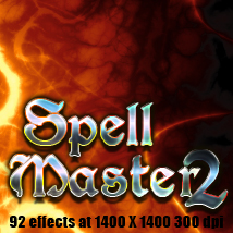 Spell Master 2 magical special effects 2D TheToyman