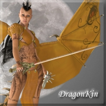 3DP_DragonKin 3D Models 3D Figure Essentials 3dpoetry