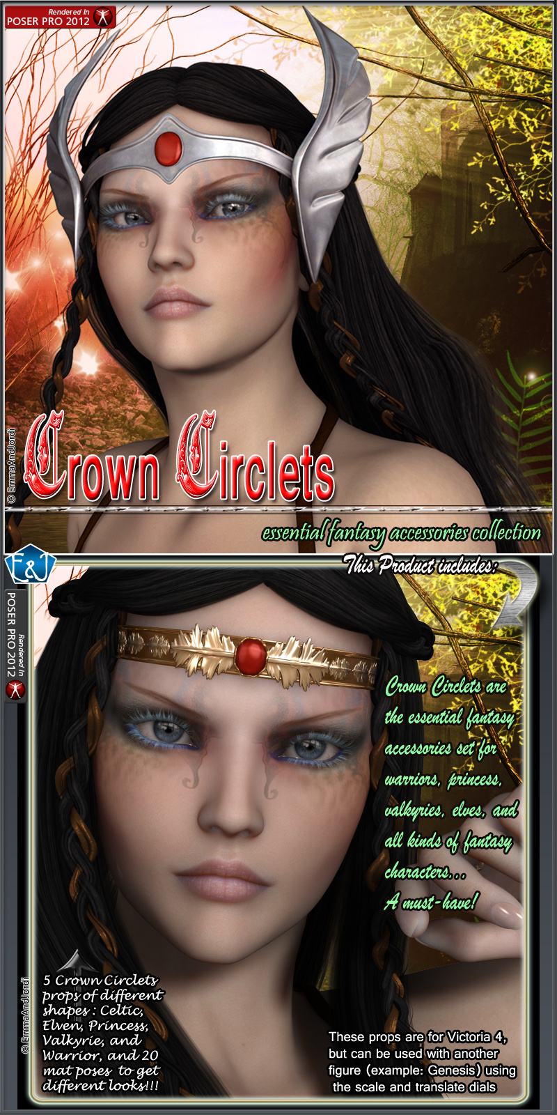 Crown Circlets