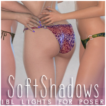 Sabby-Soft Shadows 3D Lighting : Cameras Sabby