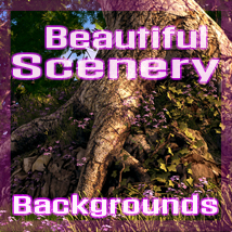 Beautiful Scenery 2D Graphics 3D Models artbunnycreations