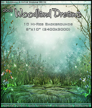 ABC's Woodland Dreams 2D And/Or Merchant Resources Themed Bez