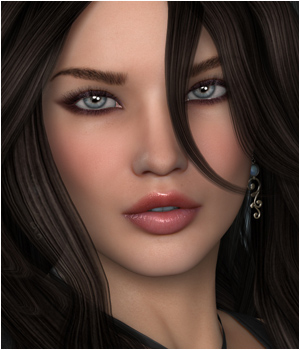 VHP Melanie 3D Figure Essentials 3D Models Godin