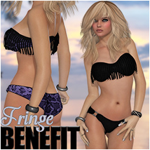 Fringe Benefit 3D Figure Essentials Silver
