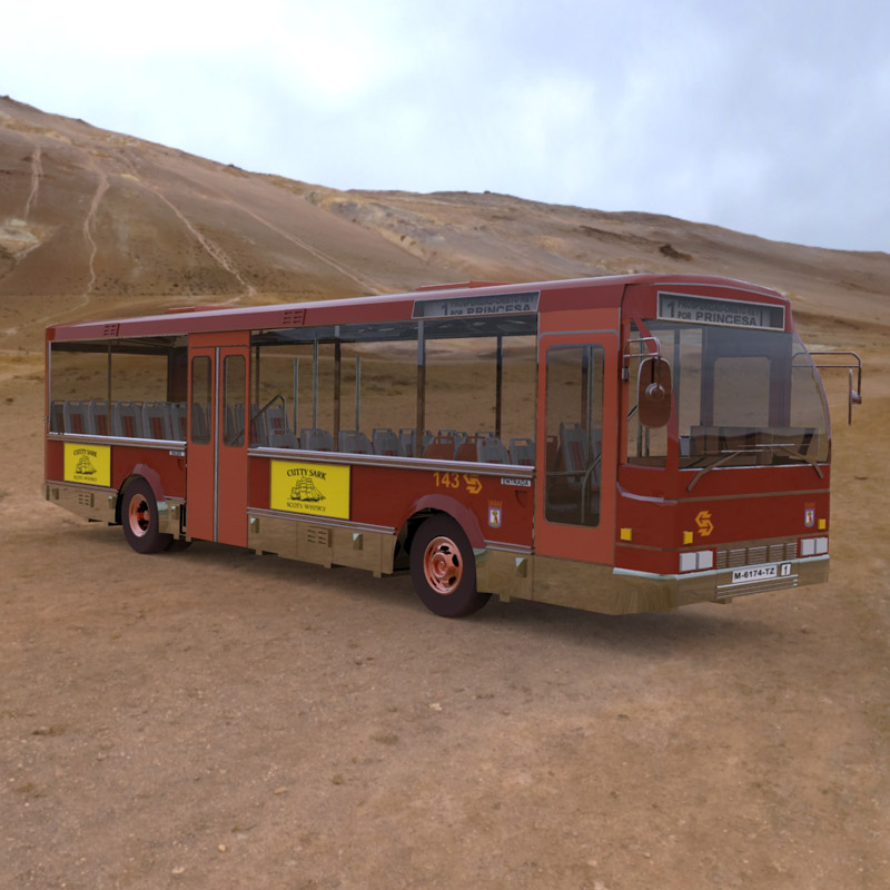 E.M.T. Bus (for 3D Studio Max)
