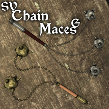 SY Chain Maces G 3D Models SickleYield