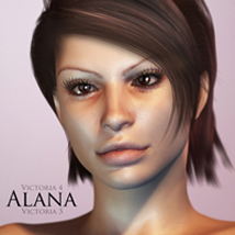 Alana for V4 and V5 by adamthwaites Characters adamthwaites