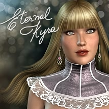 Eternal Kyra Hair 3D Figure Essentials fabiana