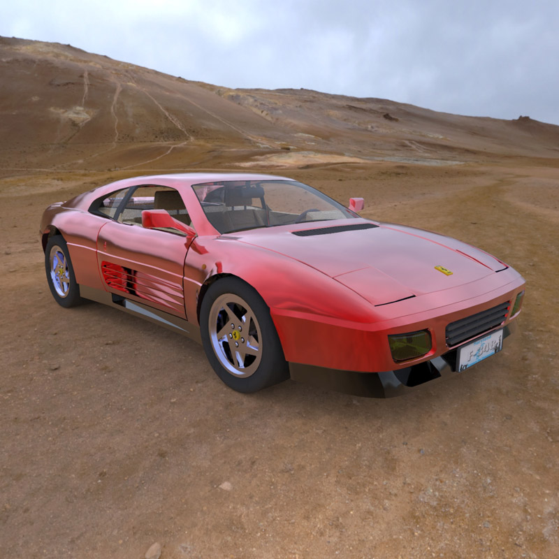 Ferrari 348T (for 3D Studio Max)