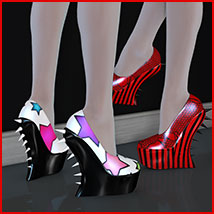 Stylz for Spiky Shoes Footwear Themed Software Artemis