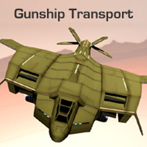 GunshipTransport 3D Models shawnaloroc