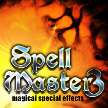 Spell Master 3 magical special effects 2D TheToyman