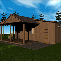 The Cabin 3D Models Richabri