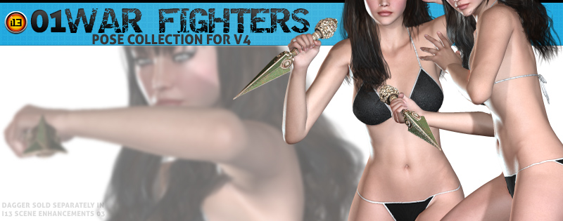 i13 01WAR FIGHTERS POSE COLLECTION V4