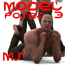 Farconville's Model Poses 3 for Michael 5 3D Figure Essentials 3D Models farconville