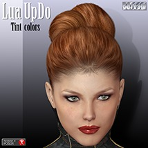 Lua UpDo TINT 3D Figure Essentials 3Dream