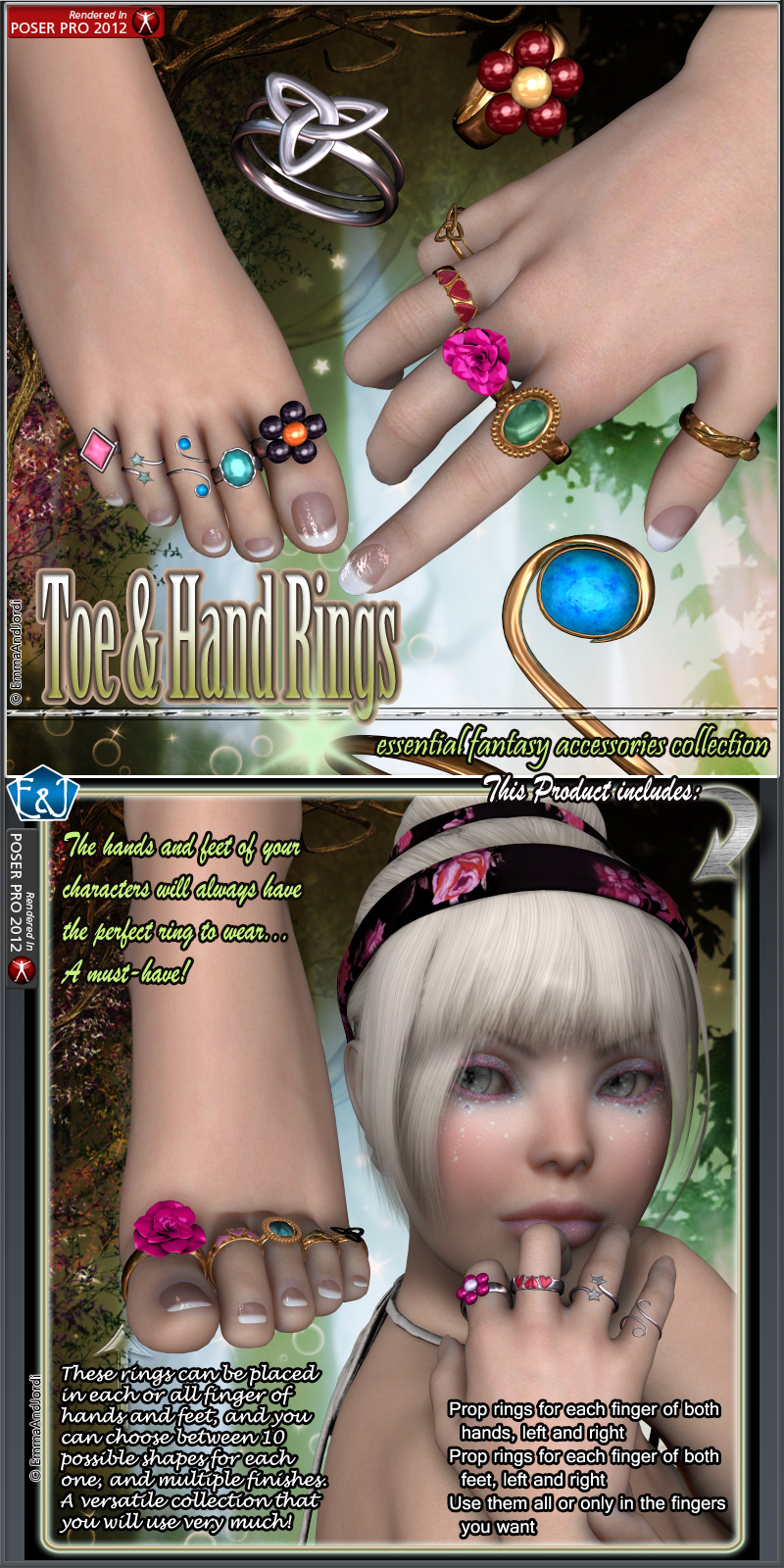 Toe And Hand Rings