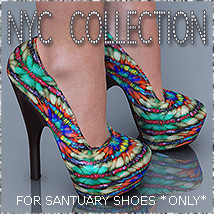 NYC Collection: Sanctuary Footwear Themed 3DSublimeProductions
