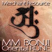 MM BONJI ~Oriental RUNE ~ 2D And/Or Merchant Resources MafMat
