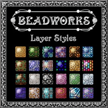 BEADWORKS Layer Styles 2D And/Or Merchant Resources Themed fractalartist01