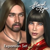 Eternal Kyra - ExpansionSet Hair fabiana