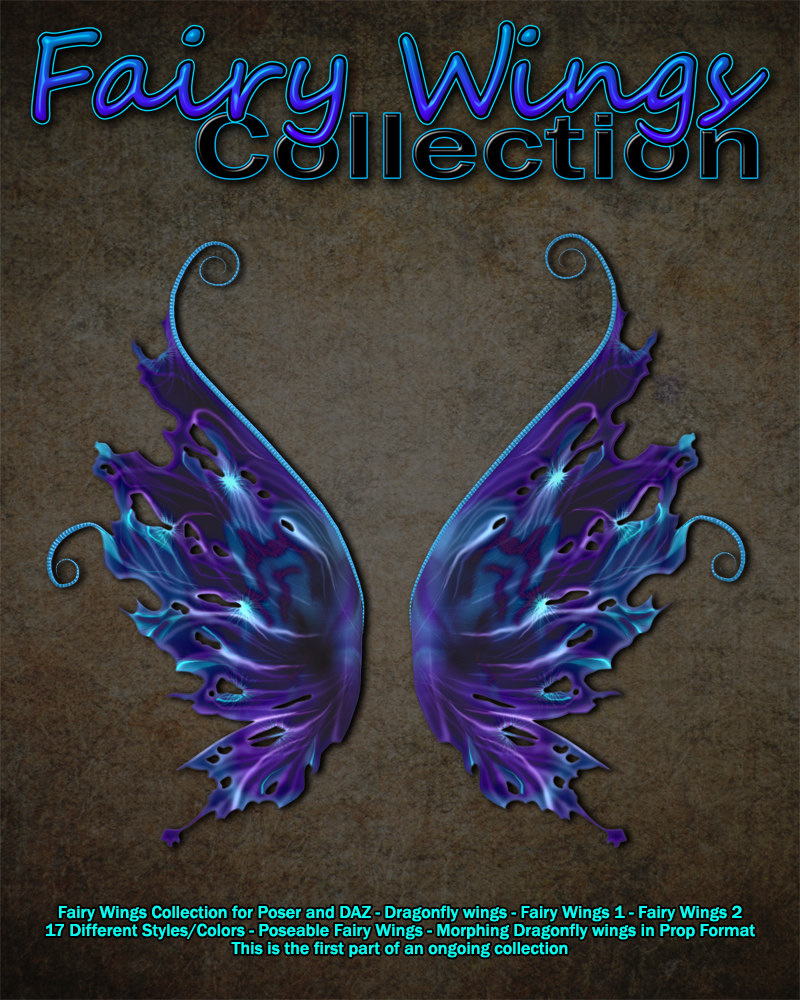 Exnem Fairy Wings Collection