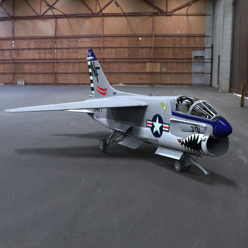 Corsair II (for 3D Studio Max)