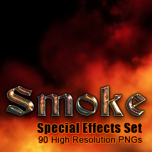Smoke Special Effects set 2D Graphics TheToyman