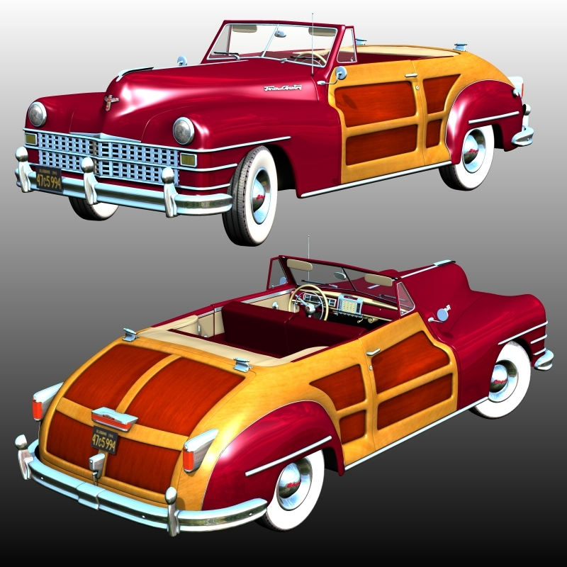 CHRYSLER TOWN AND COUNTRY 1948 (for Poser)
