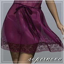 Chiffon Dress by -supernova-