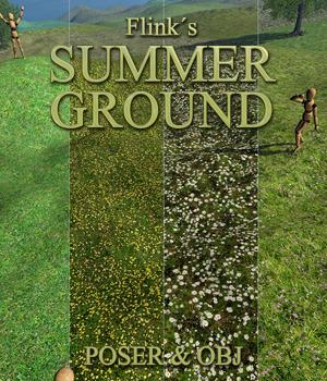 Flinks Summer Ground 3D Models Flink