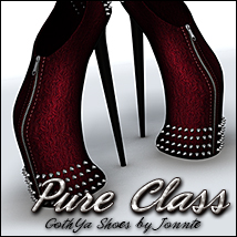 Pure Class for CS GothYa Shoes Themed Footwear Sveva