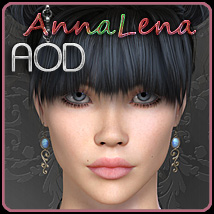 AnnaLena V4 3D Figure Essentials ArtOfDreams