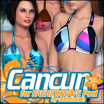 Cancun for FASHIONWAVE Pool V4/A4/G4 3D Figure Essentials ShanasSoulmate