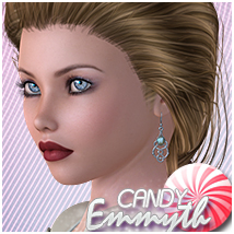 Candy Emmyth 3D Figure Essentials 3D Models Sveva