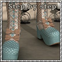 Step by Step: Sweetheart Footwear Themed sandra_bonello