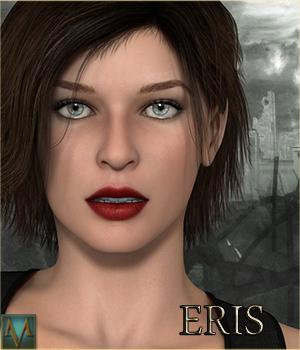 MRL Eris 3D Figure Essentials Mihrelle