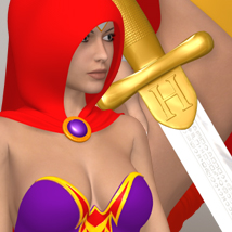 Heroine 3D Figure Essentials 3D-Age