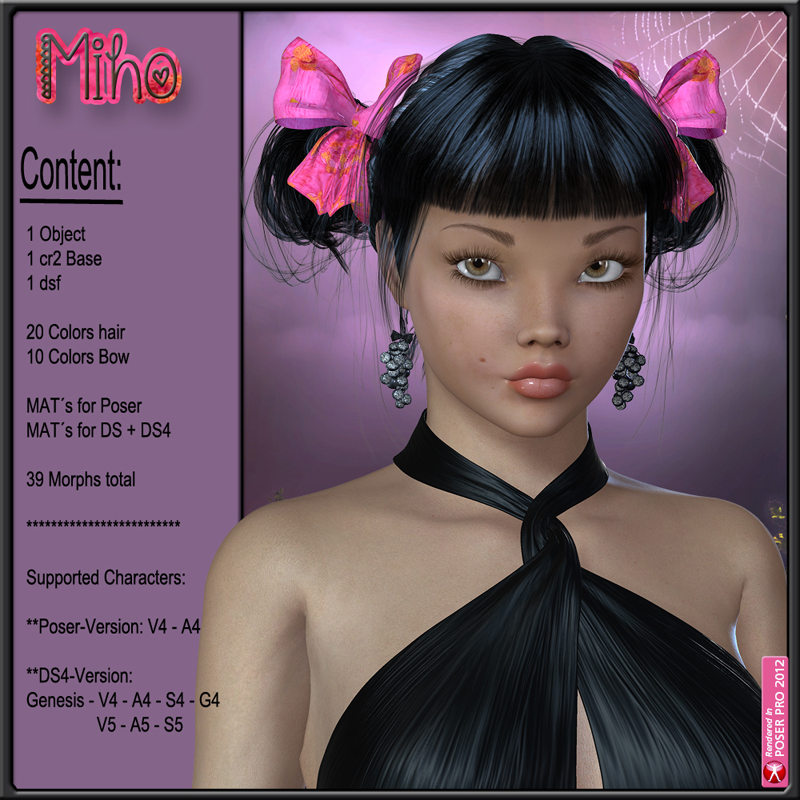 Miho Hair for V4 and G1