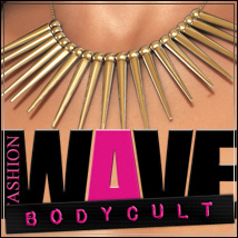 FASHIONWAVE Bodycult Volume 6 - Necklaces 3D Figure Assets 3D Models outoftouch