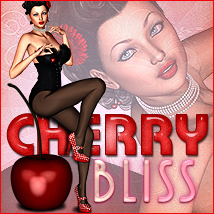 Cherry Bliss 2D Graphics 3D Models Sveva