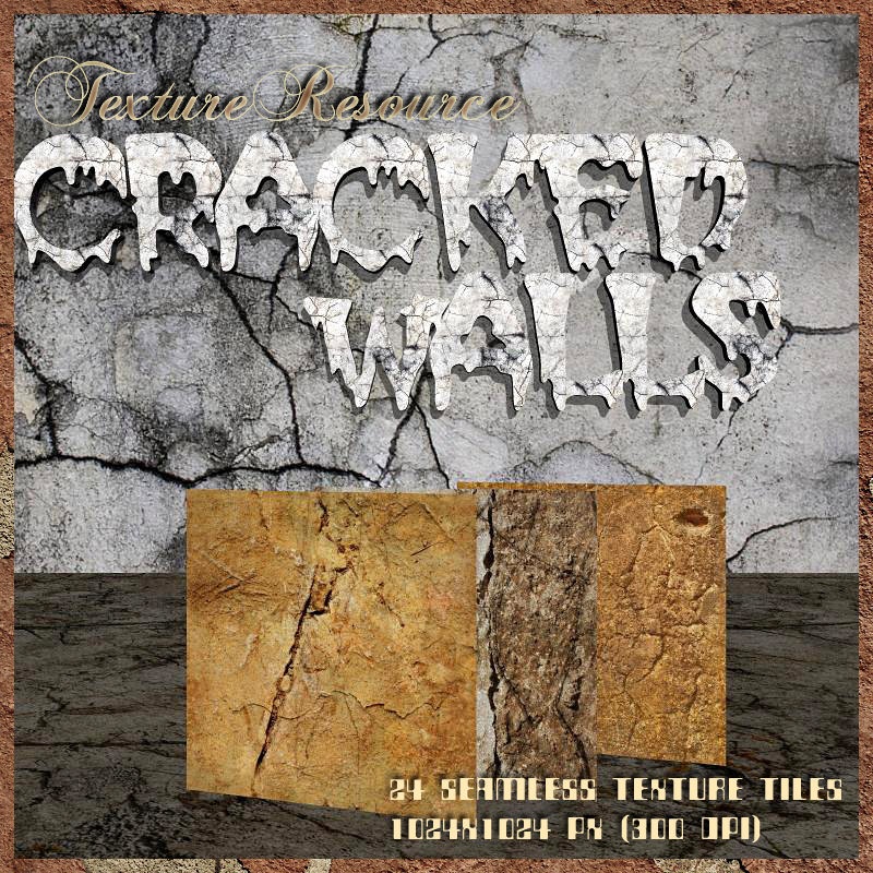 TextureResource-Cracked Walls