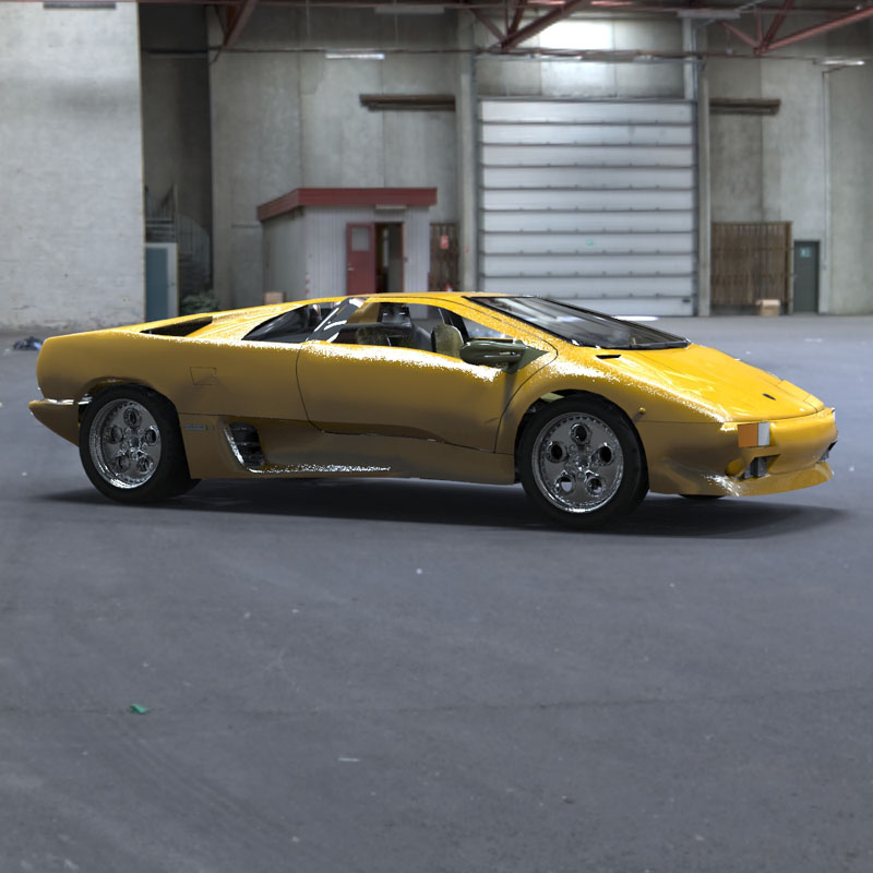Lamborghini Diablo (for 3D Studio Max)