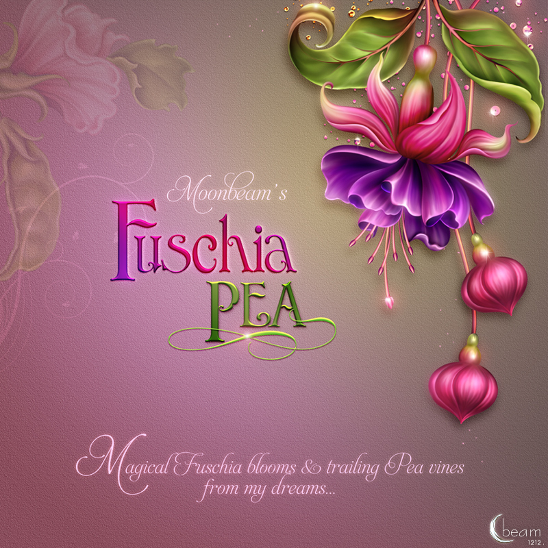 Moonbeam's Fuchsia Pea by moonbeam1212