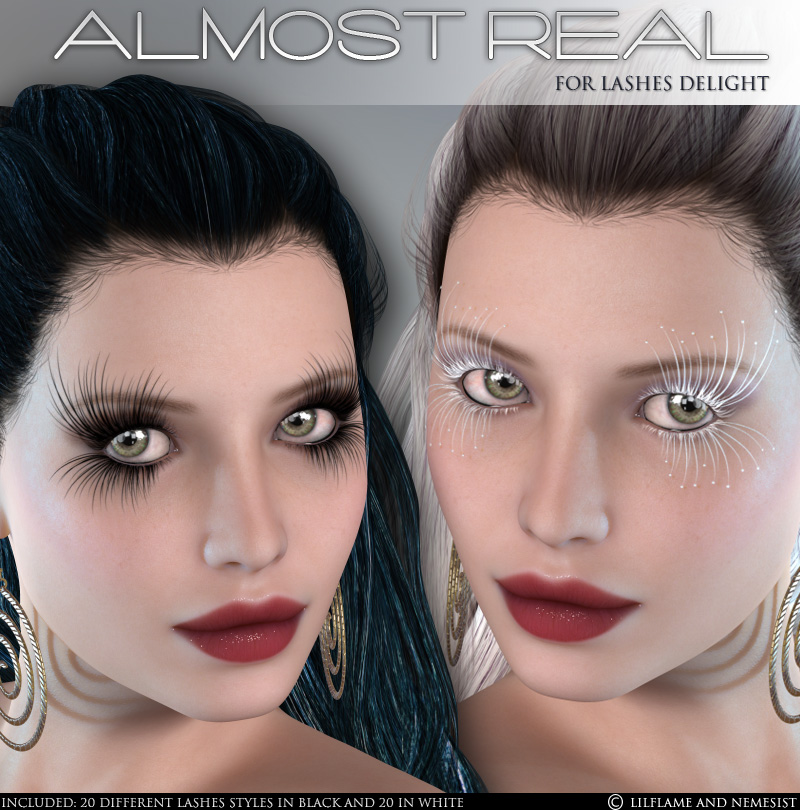 Almost Real - Lashes Delight