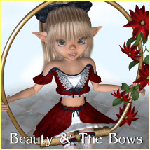 Beauty and The Bows by JudibugDesigns