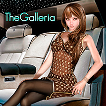 theGalleria for Hongyu Jersey Dress2 3D Figure Essentials yumeka